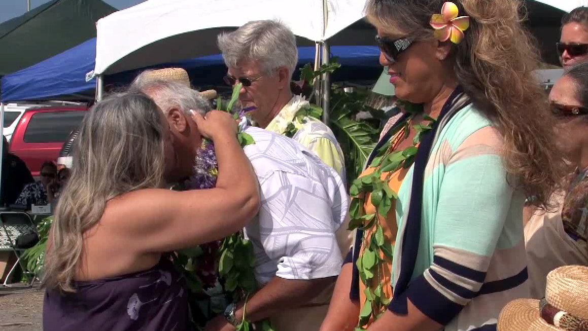 VIDEO: West Hawaii Community Health Center site blessed