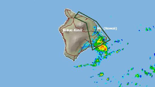 Flash Flood Warning continues for Big Island
