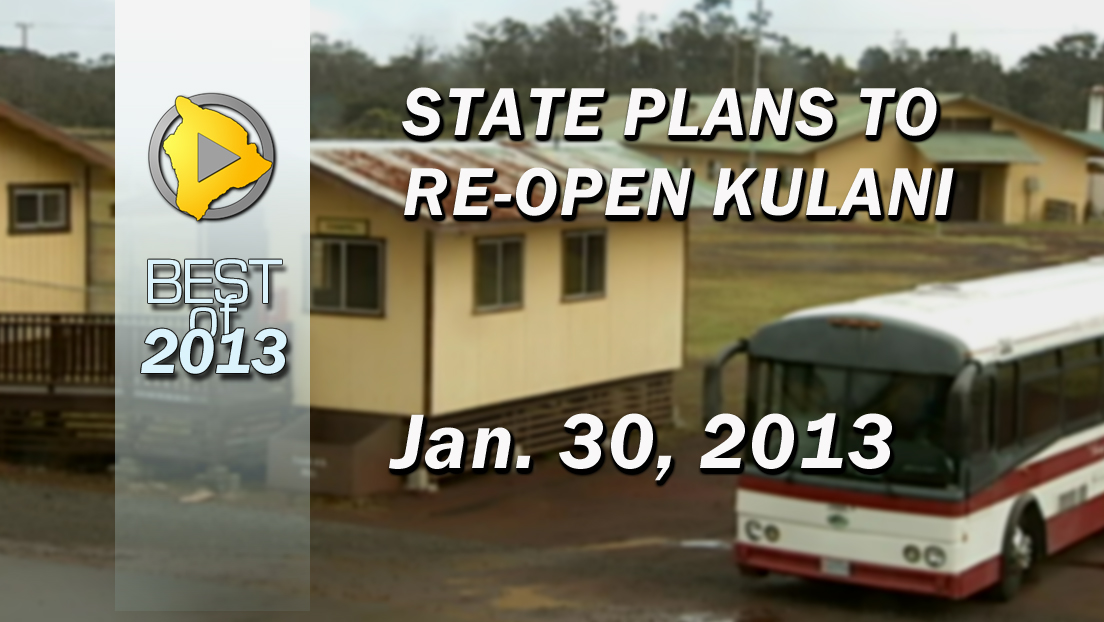 VIDEO: State plans to re-open Kulani
