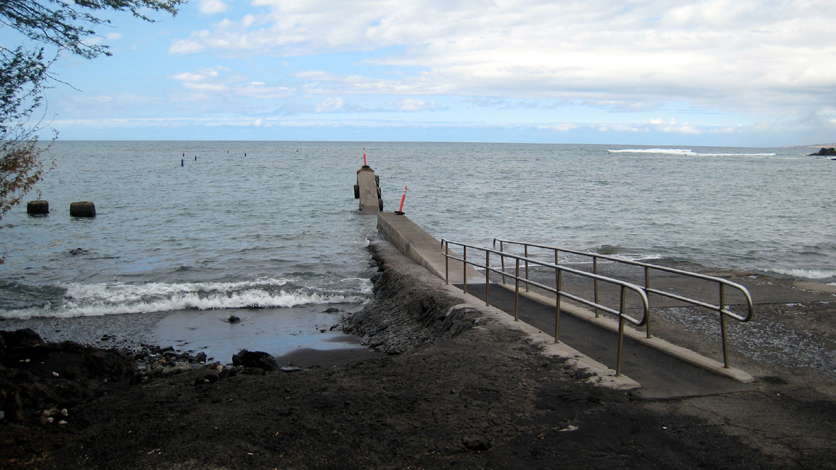Puako Boat Ramp closure, Jan. 7-9, after wave damage