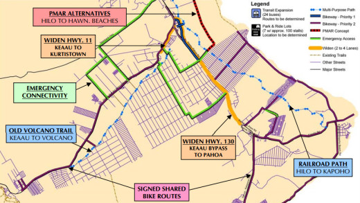 Map from the Puna Regional Circulation Plan
