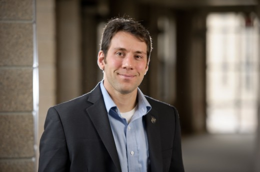 Justin Crepp, Freimann Assistant Professor of Physics at the University of Notre Dame. (CREDIT: UNIVERSITY OF NOTRE DAME)