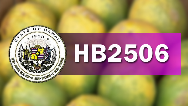 Change in Right to Farm Act will reverse Big Island GMO ban