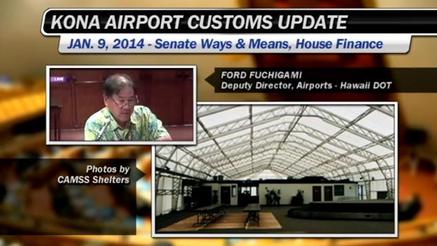 VIDEO: Kona Airport's international flights building