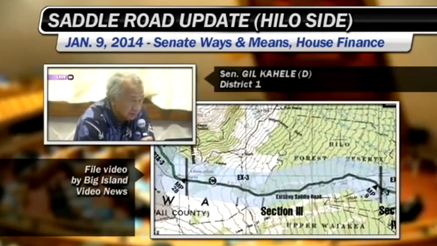 VIDEO: DOT questioned on final Saddle Road segment