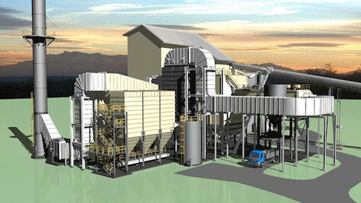 Rendering of Refurbished plant at Pepeekeo, courtesy HuHonua.com