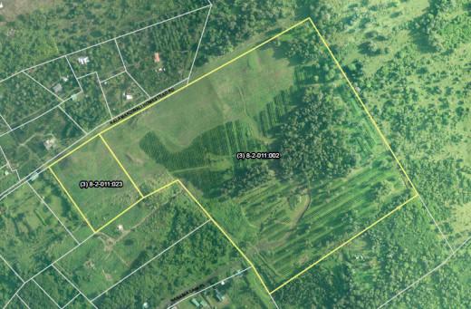 HCC Farm, LLC land on the PONC map