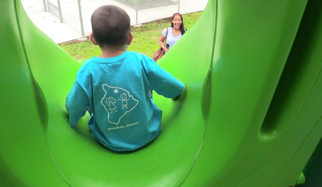 VIDEO: New Honokaa playground blessed