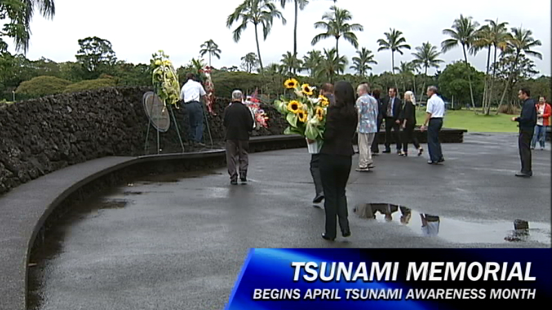 VIDEO: Ceremony at Shinmachi Tsunami Memorial