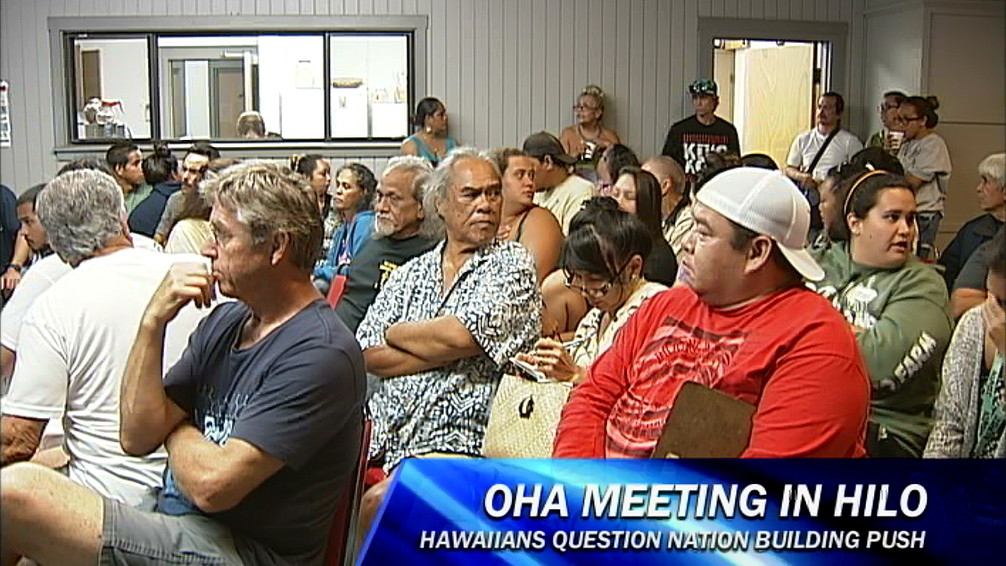 VIDEO: Resistance grows to OHA nation building plan