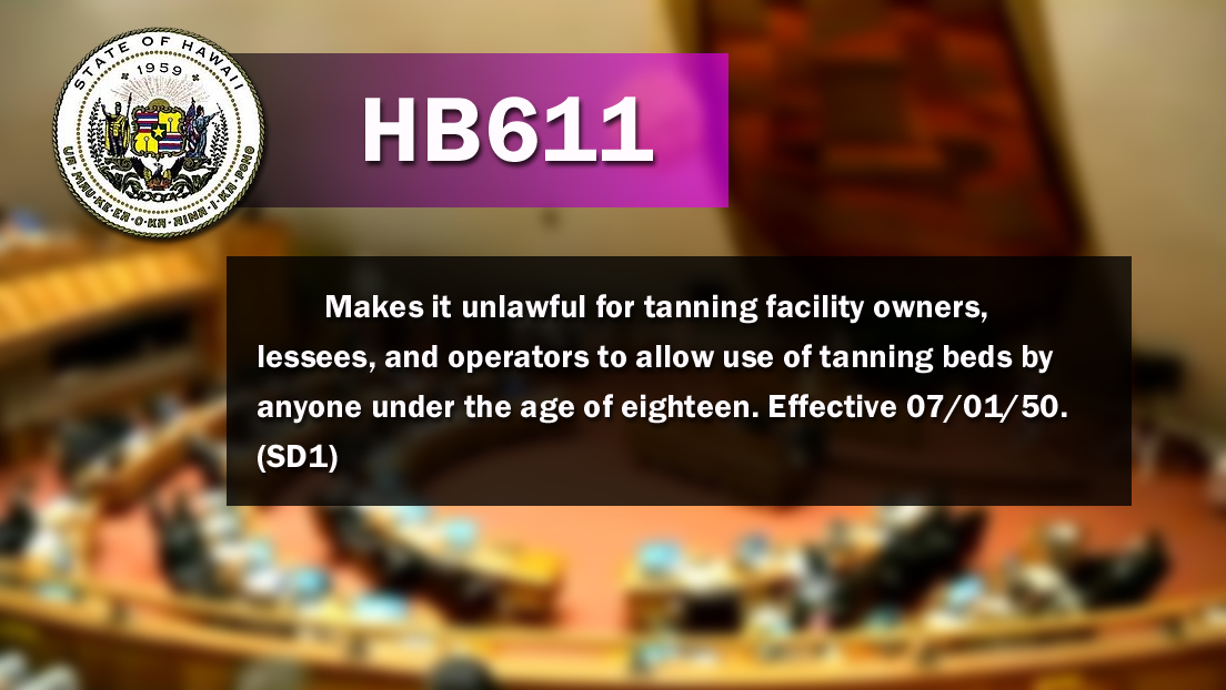 Tanning Bill Passes Conference Committee