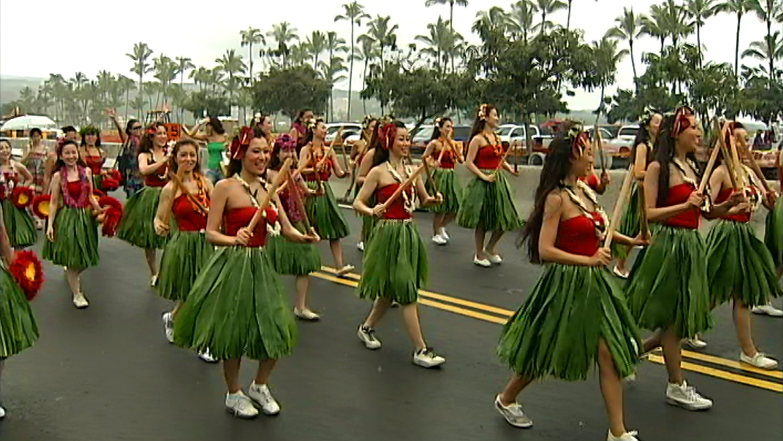 VIDEO: Merrie Monarch Festival Royal Parade