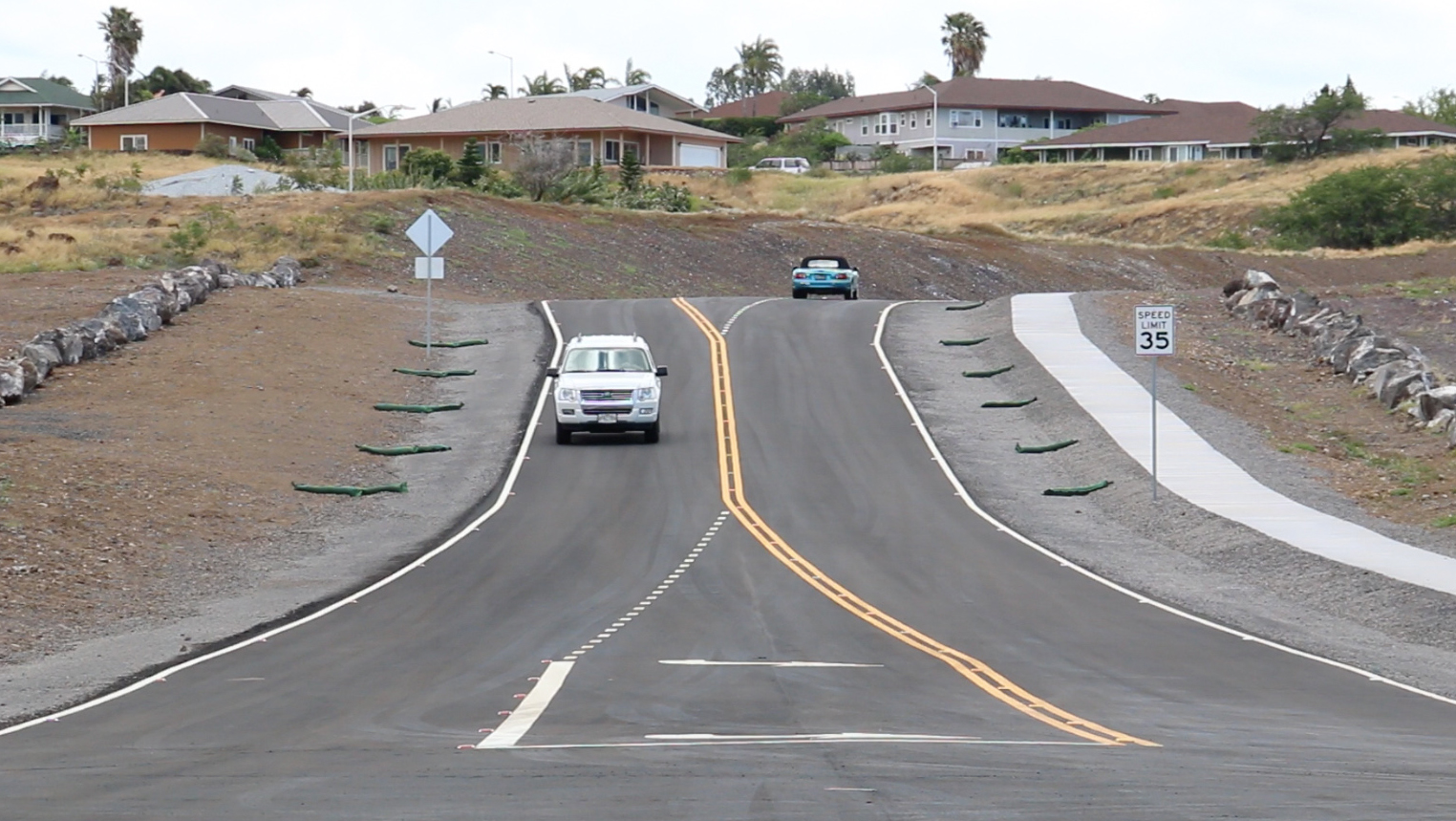 Paniolo Avenue Extension Opens in Waikoloa