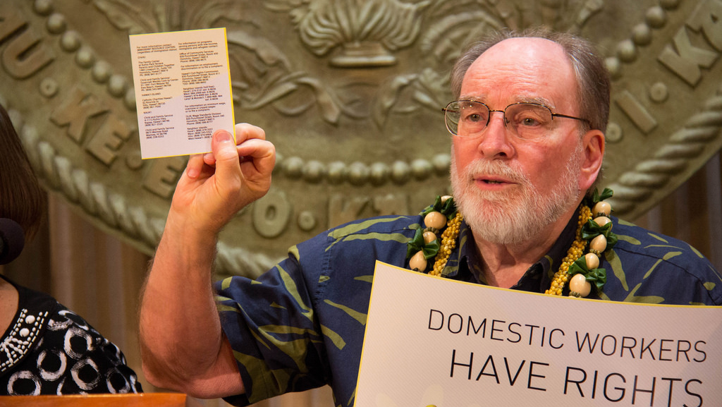 Hawaii Domestic Workers Rights Campaign Launched