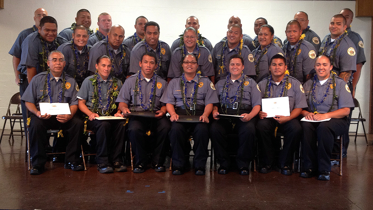 New Corrections Officers Graduate, Will Head To HCCC