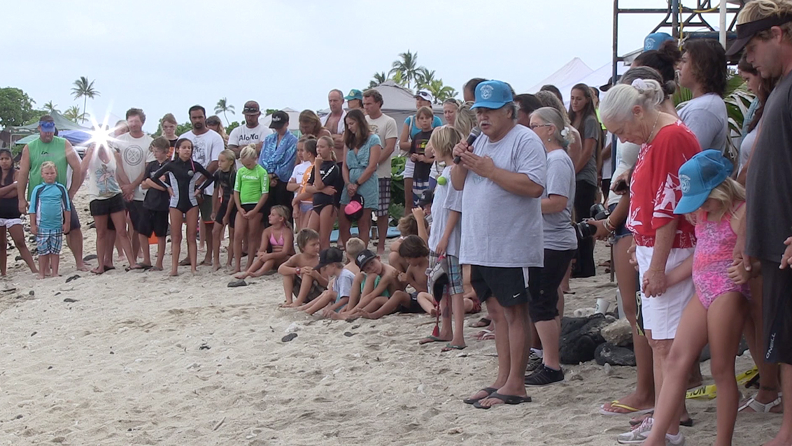 VIDEO: 19th annual Keiki Surf Contest at Kohanaiki