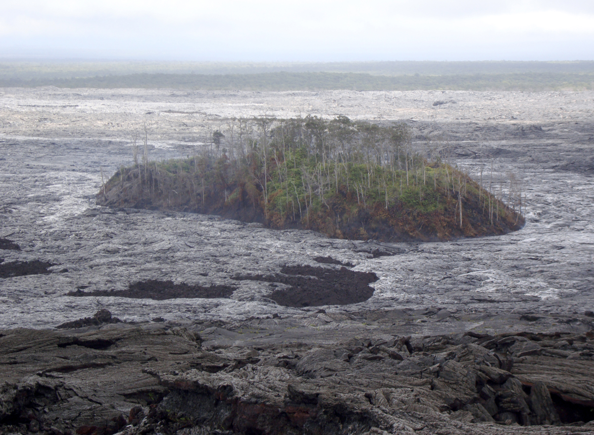 Lava Hiker Airlifted After Sprained Ankle