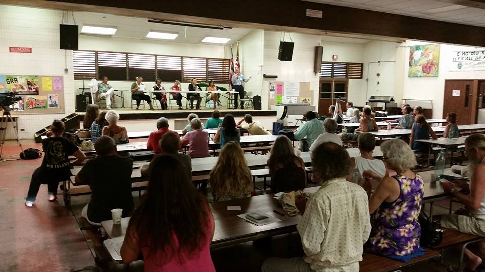 VIDEO: Puna Pono Alliance Candidate Forums