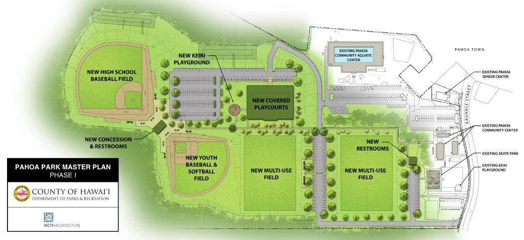 Pahoa Park Plan