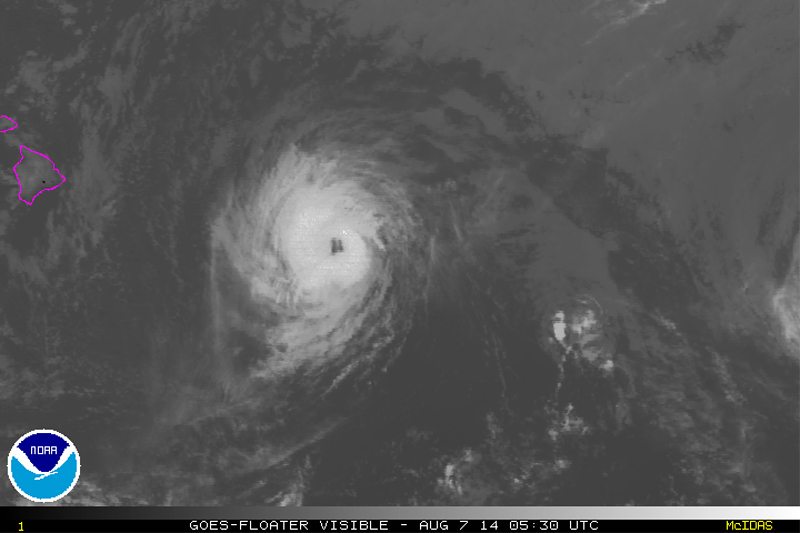 8 pm Hawaii Iselle Update: Storm Still Category One Hurricane