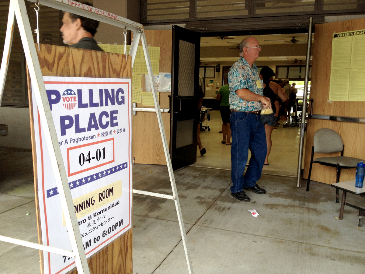 VIDEO: Early Delays, Concerns During Puna Special Election