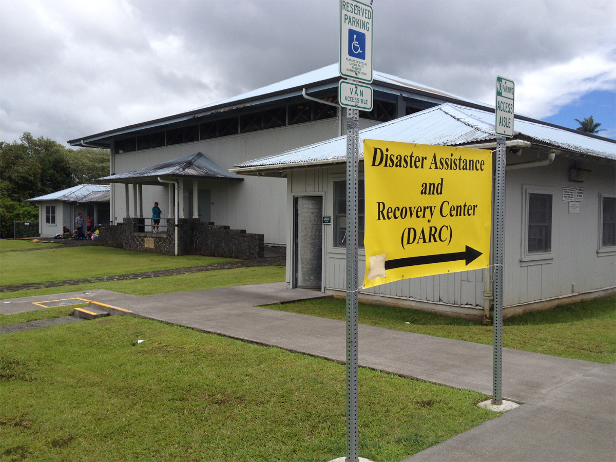 VIDEO: FEMA on Big Island, DARC in Pahoa and Mt. View