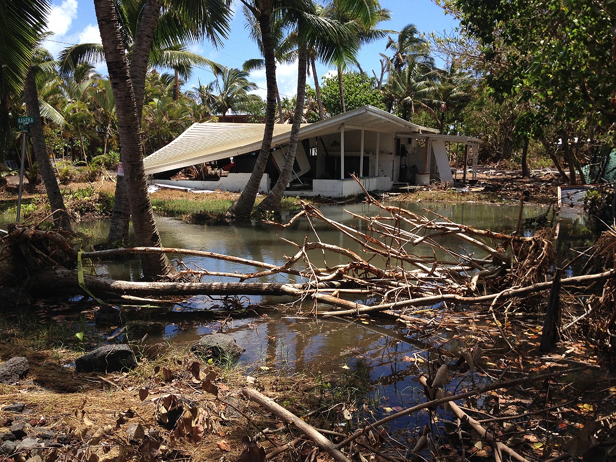 VIDEO: Kapoho Clean-Up Challenged by Environmental Concerns