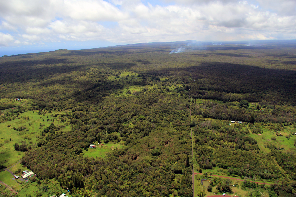 Hawaii Lava Flow Update for Monday, September 1