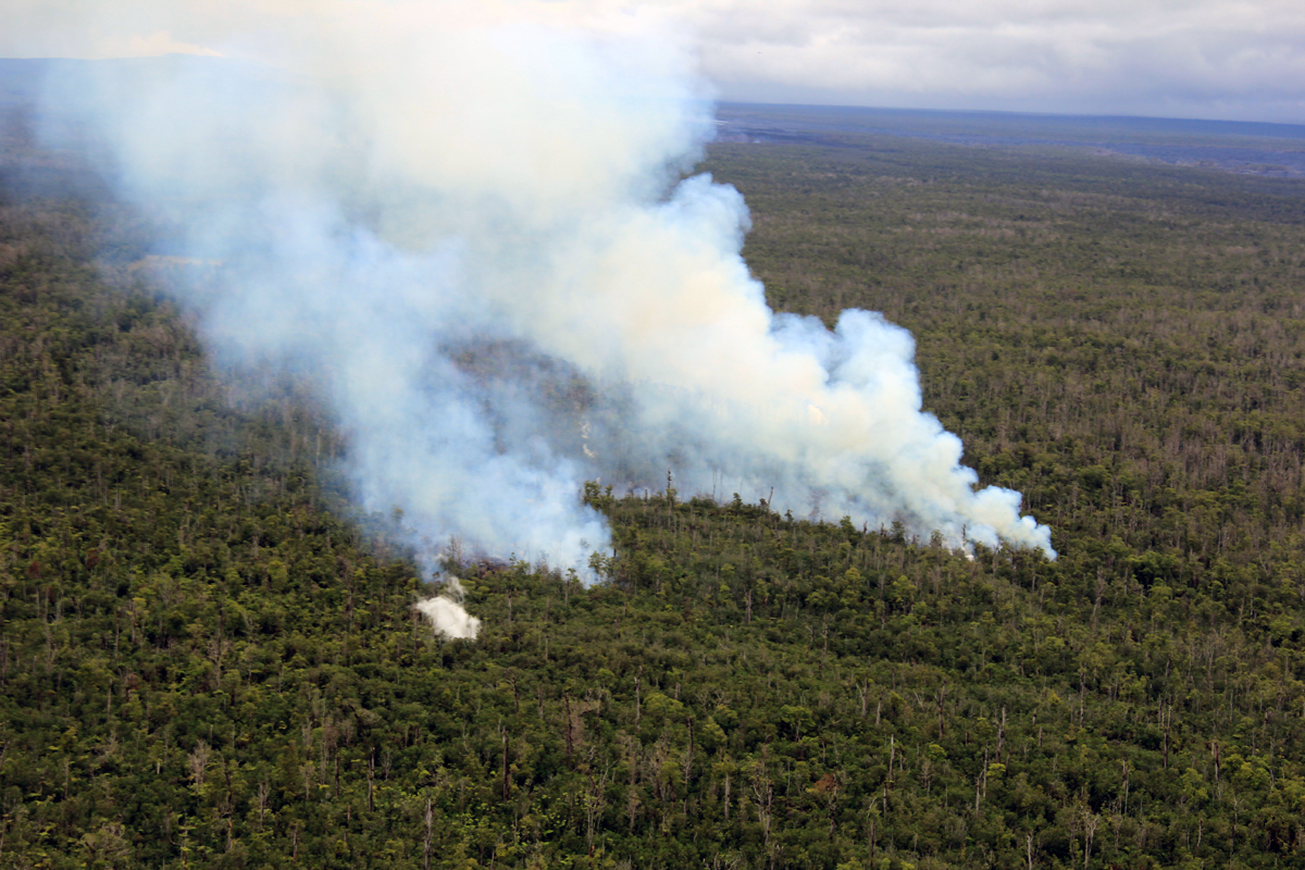 Hawaii Volcano Alert Elevated to Warning, Emergency Declared