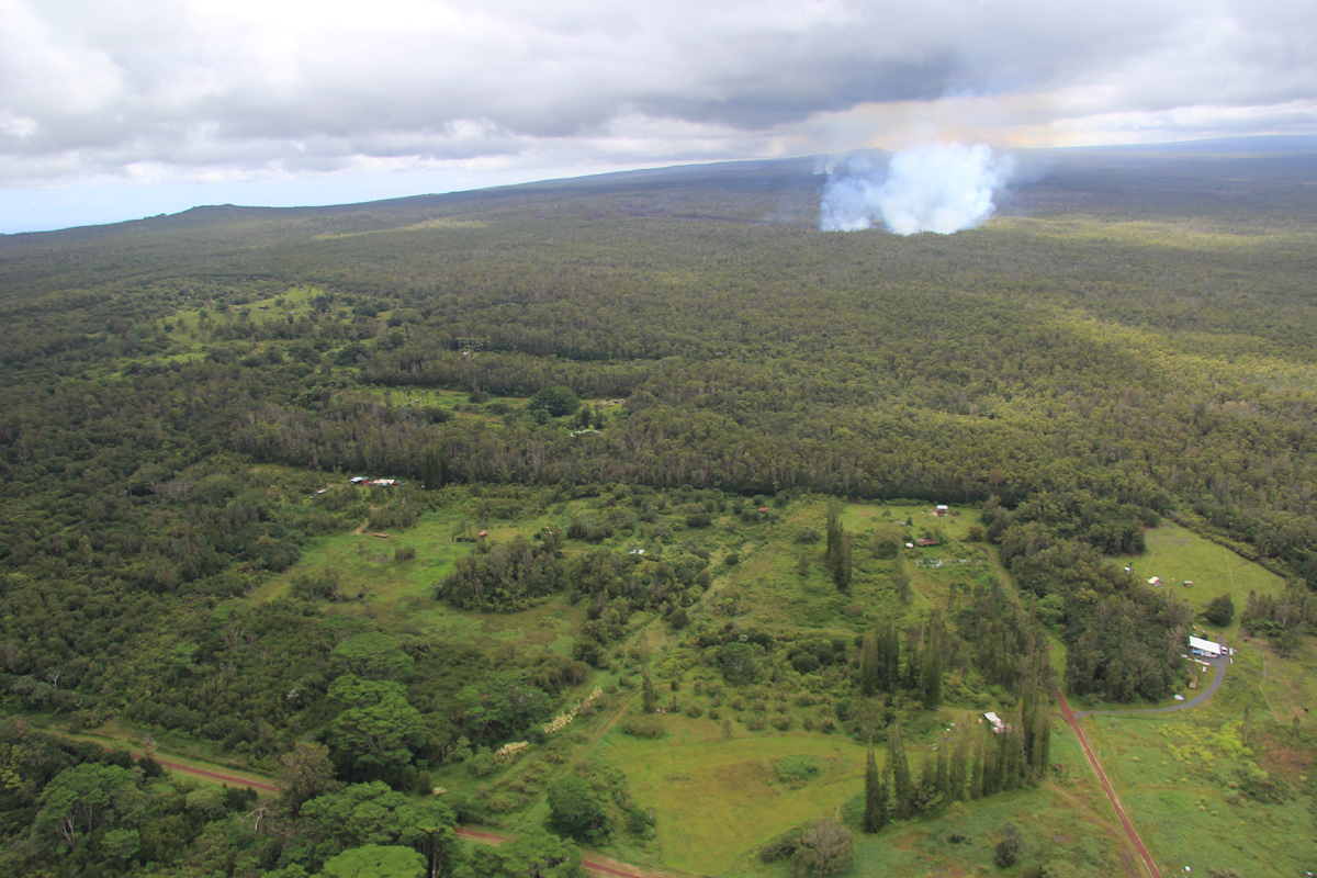 VIDEO: Morning Lava Flow Update – Tuesday, September 9