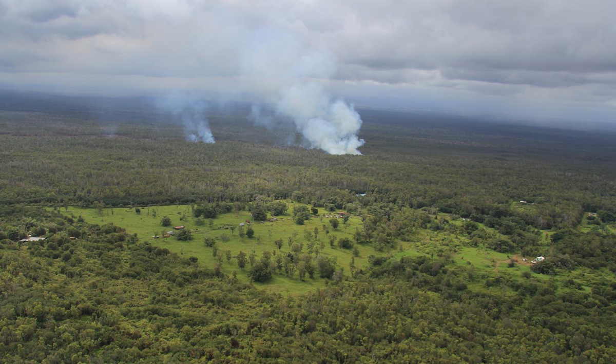 VIDEO: Kaohe Outlook Worsens – Evening Lava Flow Update, Sept. 10