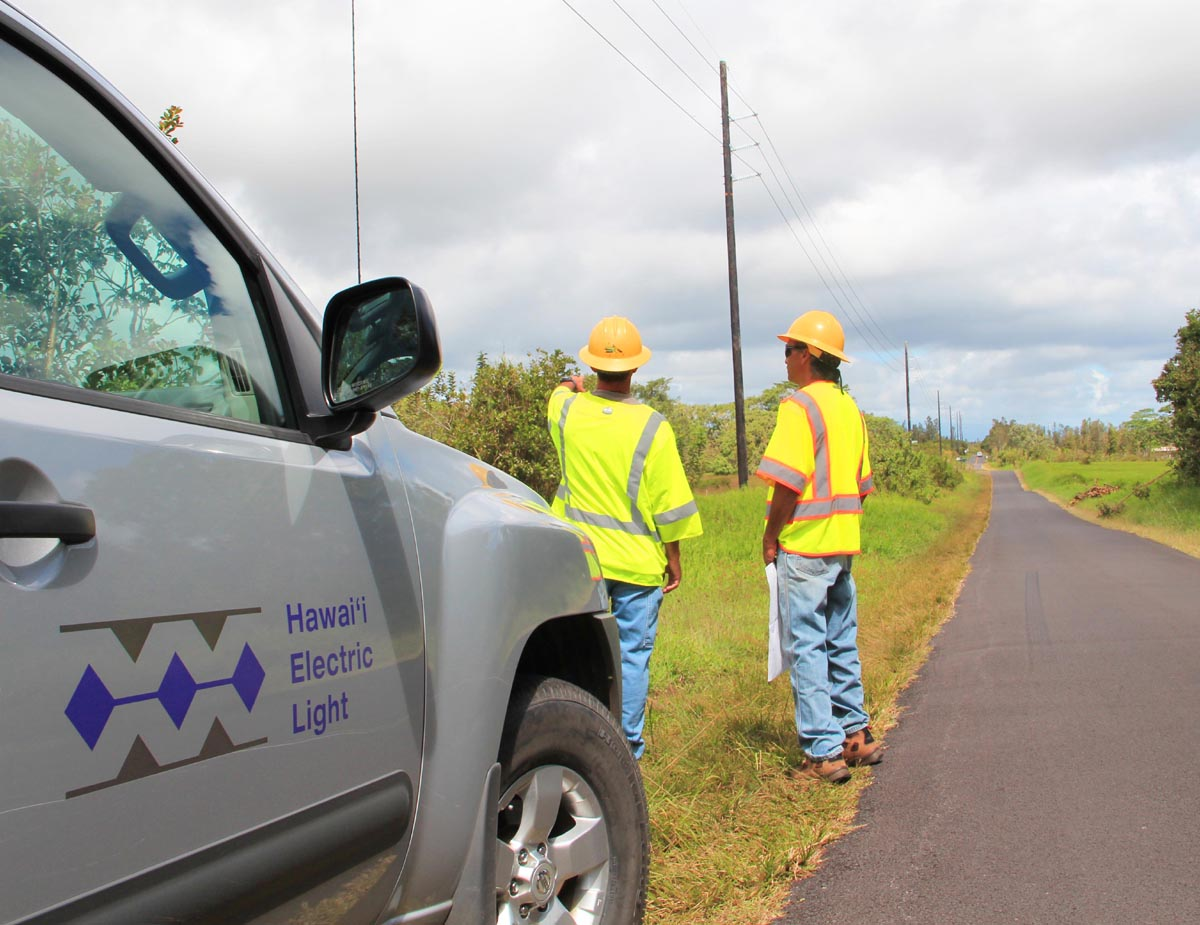 HELCO Prepares For Lava Impacts, Plans Uninterrupted Service