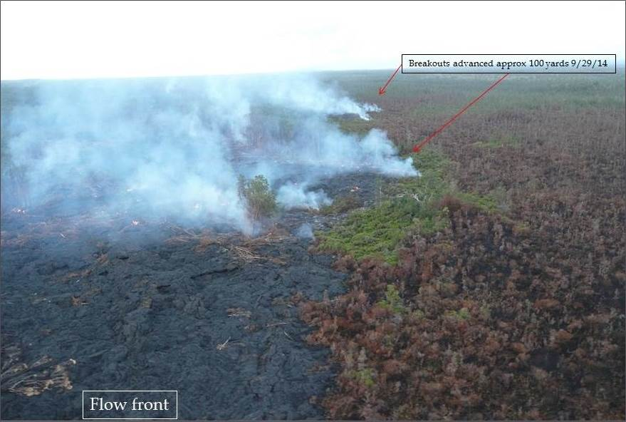 taken September 29 by Hawaii County Civil Defense