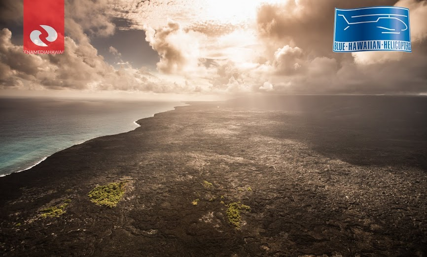 taken on September 29 by Ena Media Hawaii / Courtesy of: Blue Hawaiian Helicopters