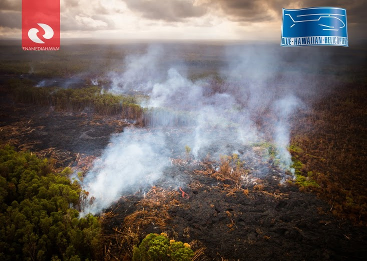 VIDEO: Morning Lava Flow Update – Tuesday, Sept. 30
