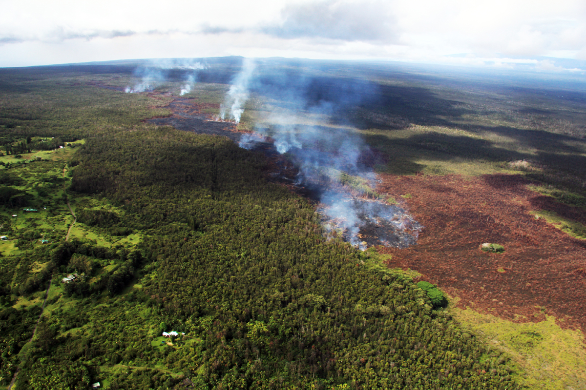 VIDEO: Lava Flow Update – Wednesday, Oct. 1