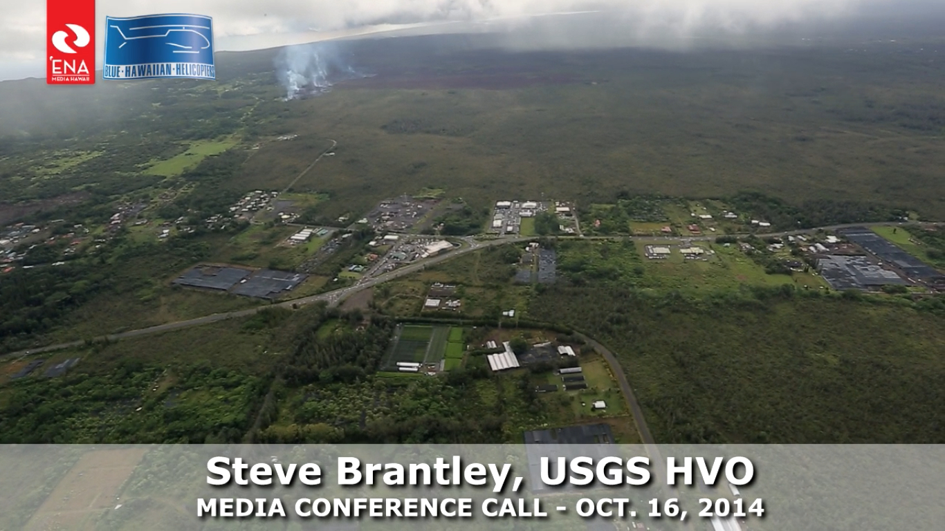 VIDEO: Lava Flow Flyover With Explanation From USGS