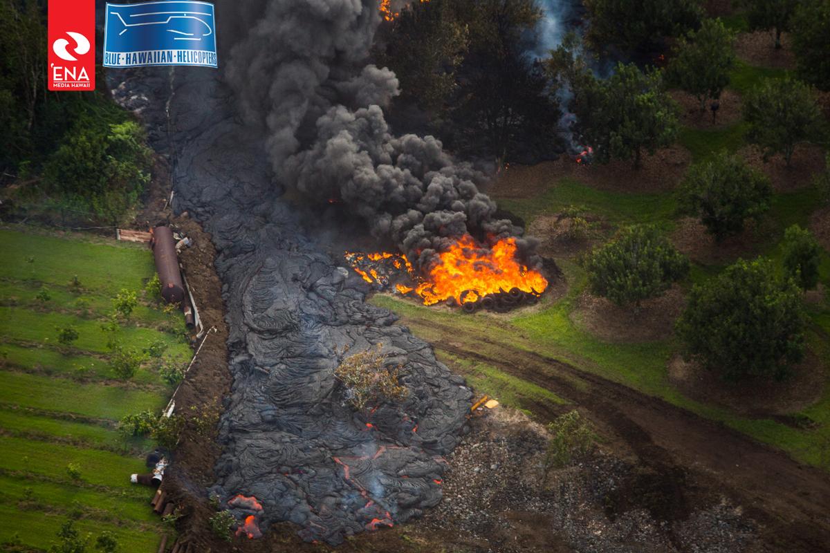 Evening Lava Flow Update – Tuesday, Oct. 28