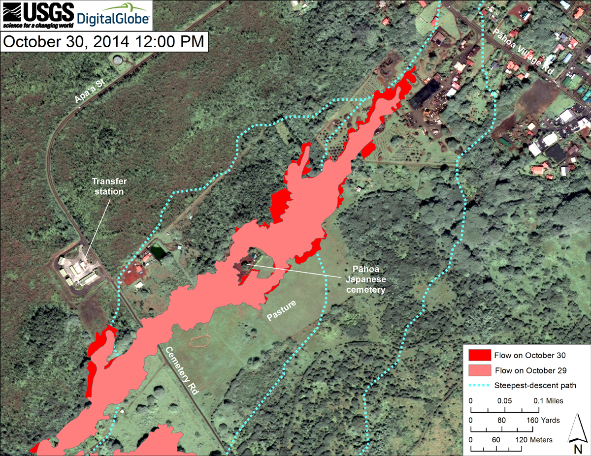 Map courtesy USGS Hawaiian Volcano Observatory