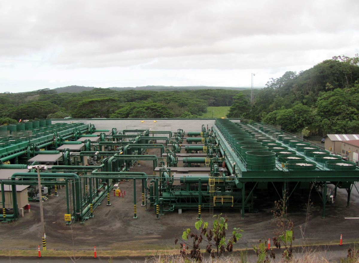 Puna Geothermal Venture Pressure Release Reported