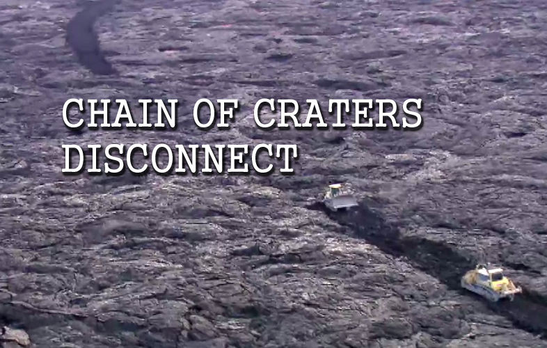 VIDEO: Who Will Use Chain Of Craters Road