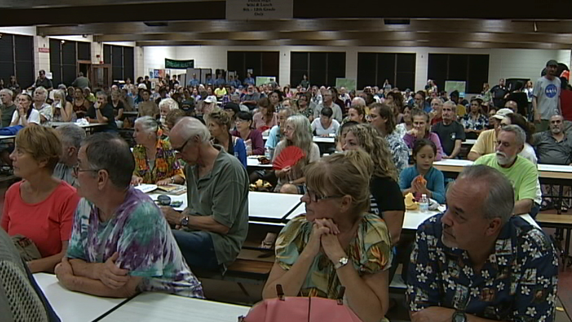 VIDEO: Officials Thankful For Current Lava Lull Downslope