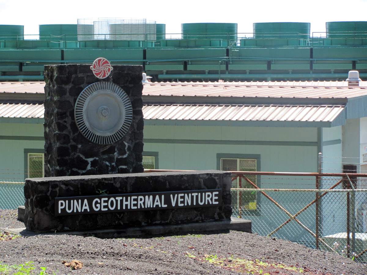 Civil Defense Reports Steam Release At Puna Geothermal Venture