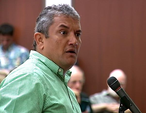 VIDEO: Mayor Kenoi Testifies Before Water Commission