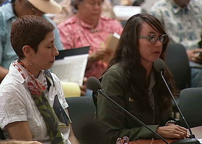 VIDEO: National Park Service Presents At Kona Water Hearing