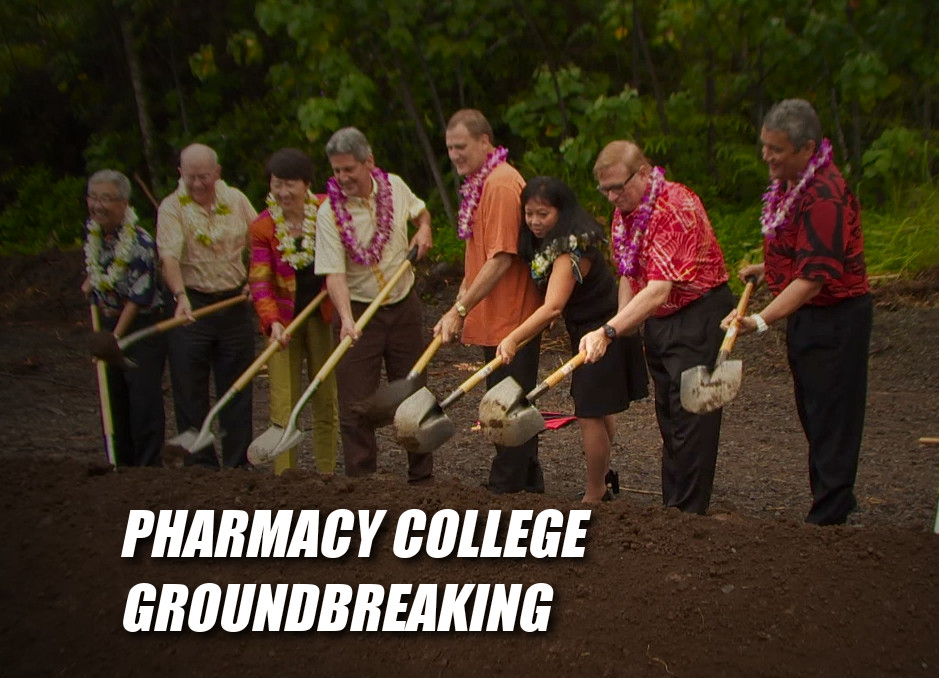 VIDEO UH College Pharmacy Building Breaks Ground