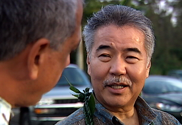 VIDEO: Governor Ige Visits Lava Threatened Puna