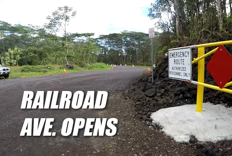 VIDEO: Railroad Avenue Opens After Blessing