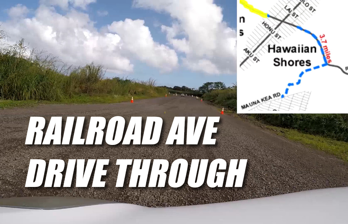 VIDEO: Railroad Avenue Drive-Through