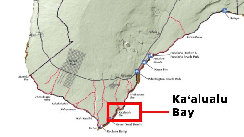 Ka'u Man Apparently Drowns Off Kaalualu Bay